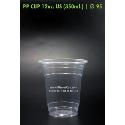 PP Cup 12oz. US | Ø 95