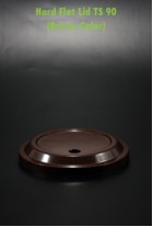 Hard Flat Lid TS 90 Brown