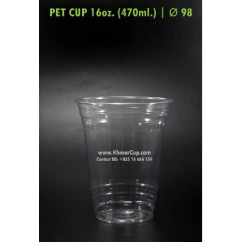 82ba23b01f6 PET Cup 16oz. | Lid Ø 98